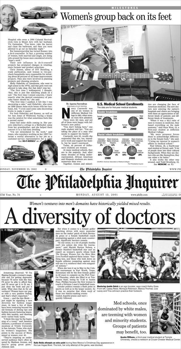 'The Philadelphia Inquirer' by Aleksandra Mir