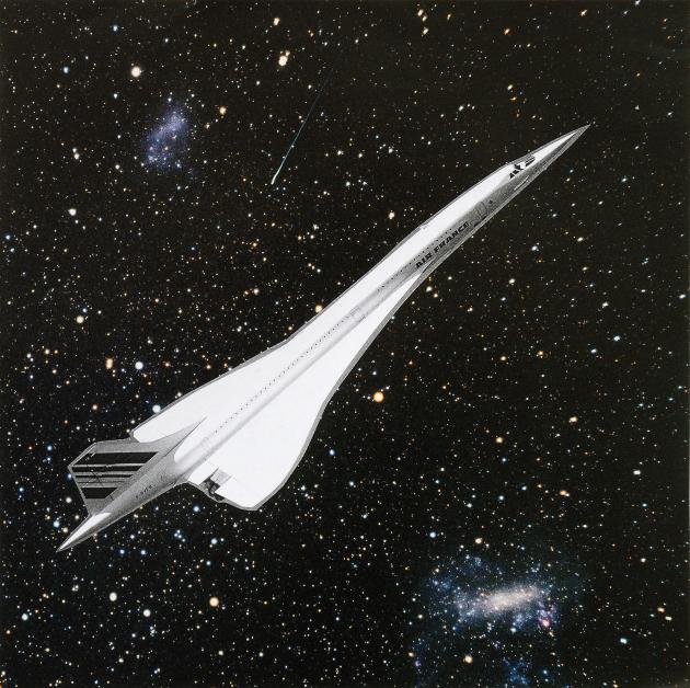 'The Concorde Collages' by Aleksandra Mir
